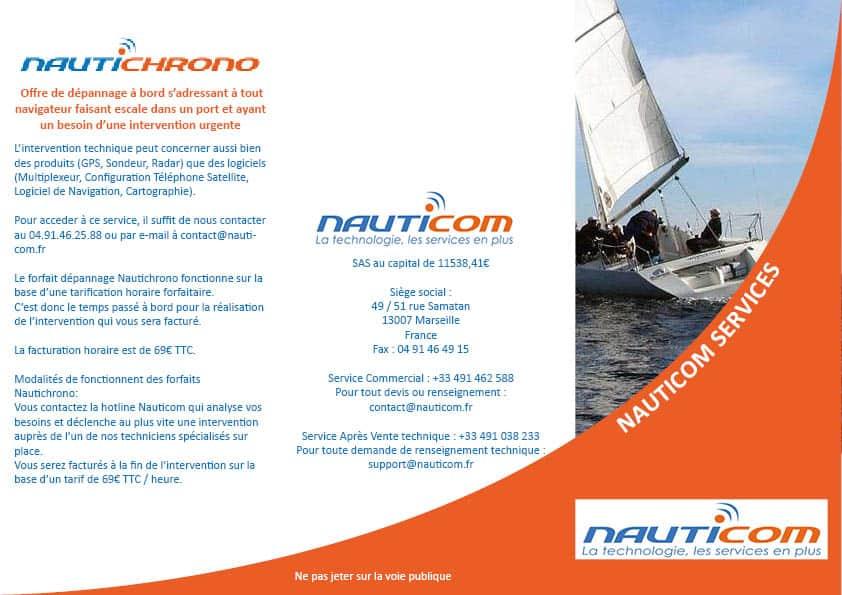 Brochure Nauticom Recto