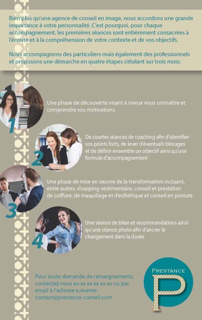 Brochure Prestance Verso