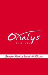 Carte de visite Oxalys
