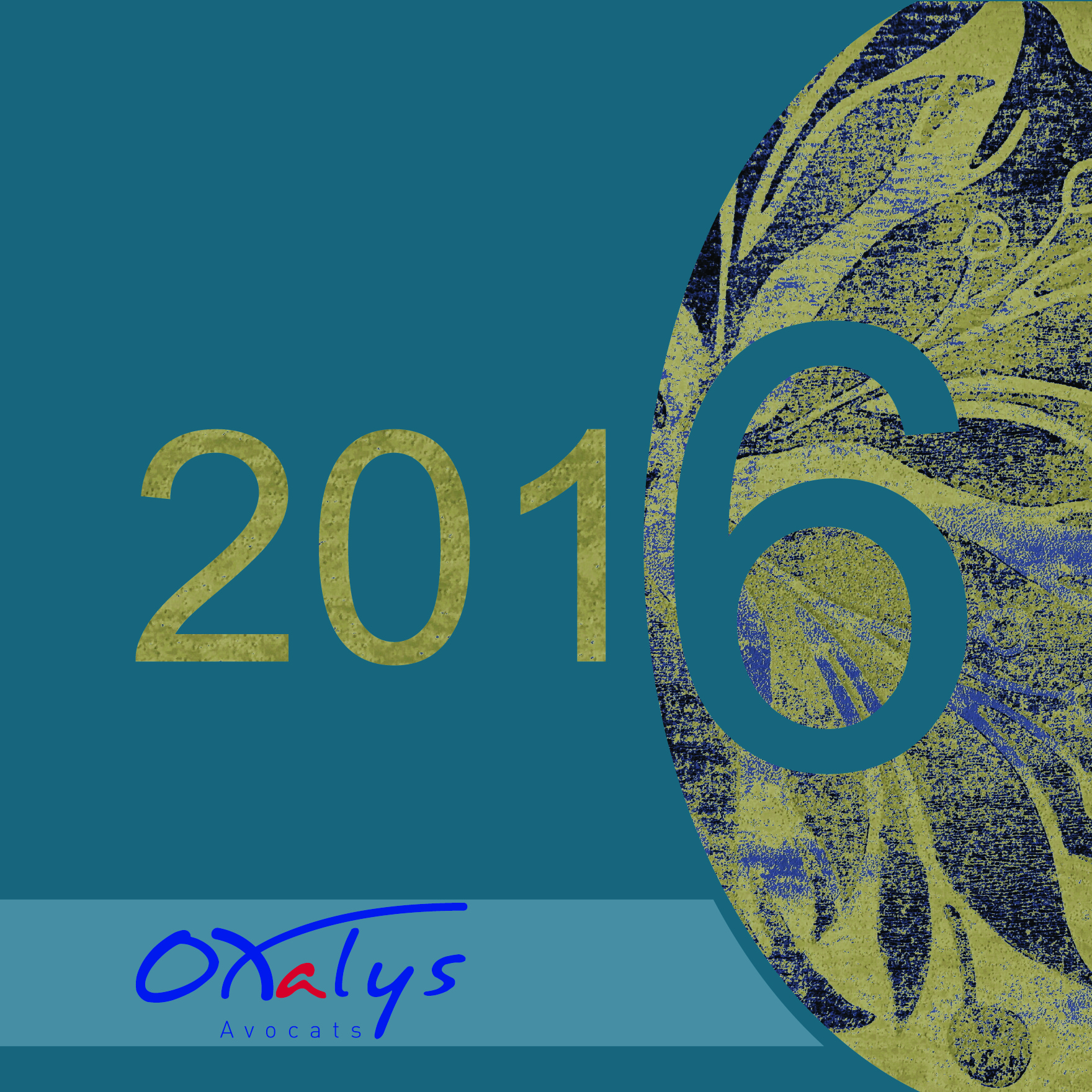 Carte de voeux 2016 Oxalys