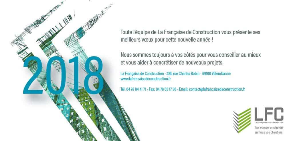 Carte de vœux La Française de Construction