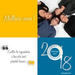 Carte de voeux Serensys Lyon 2018