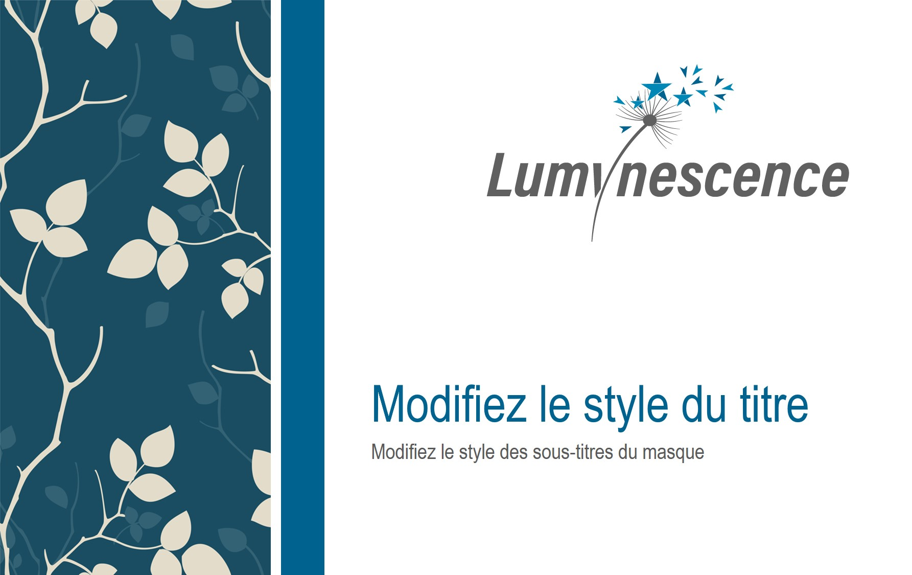 Masque Powerpoint Lumynescence