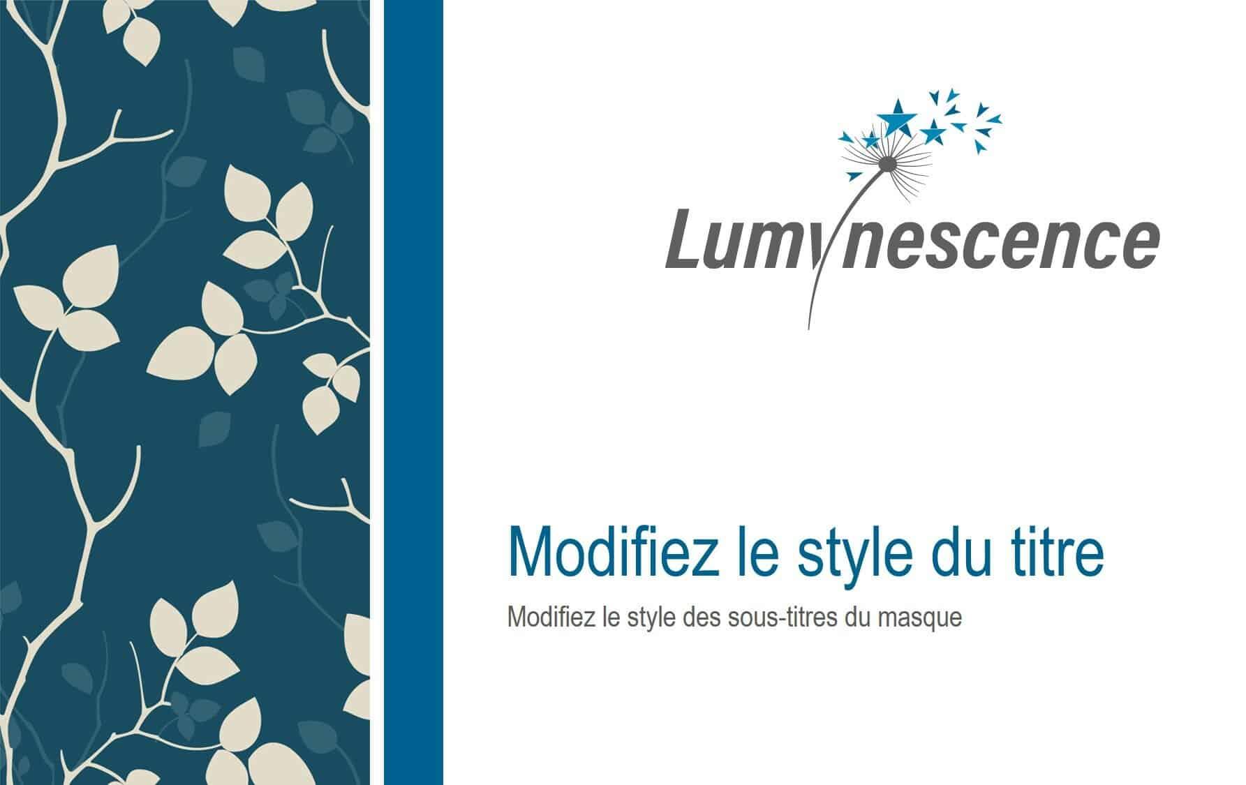 Masque Powerpoint Lumynescence