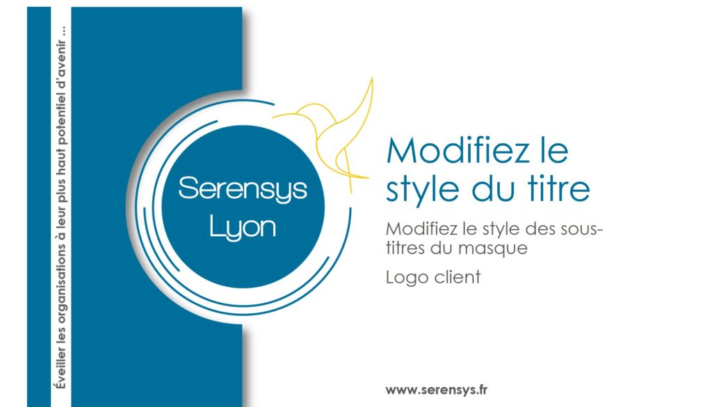 Masque Powerpoint Serensys Lyon